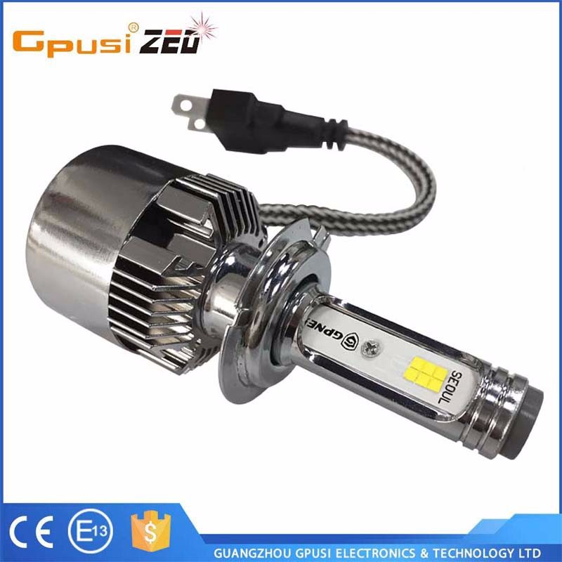 Auto parts 8000lm H1 H7 H8 H11 H13 9005 9006 c6 led headlight with Professional Manufacturer