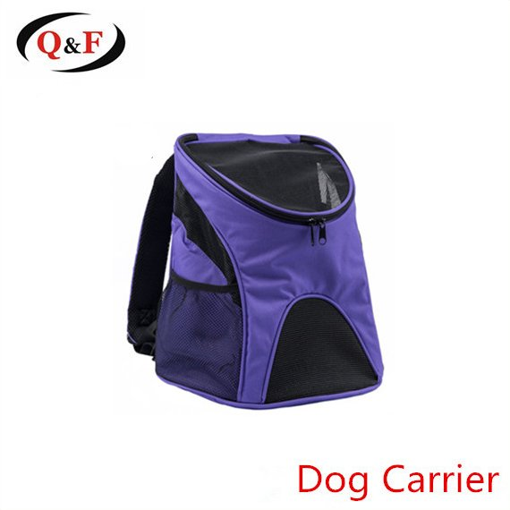 Outdoor travel polyester backpack cheap pet carrier bag