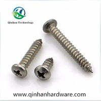 SS screw in wood table legs tapping screw