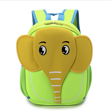 New design Cheap cartoon animal Child bags Neoprene insulted children school bag backpack new models from China manufacturer