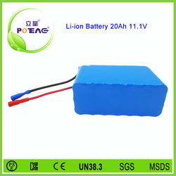 Customized rechargeable 12v 36v batteries for electric wheel chair