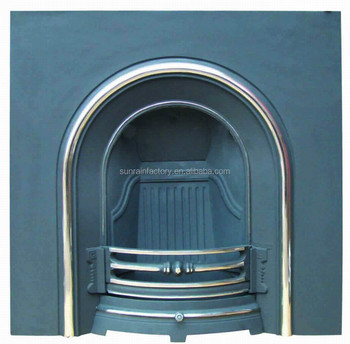 meatal wood burning insert fireplace(JX068)