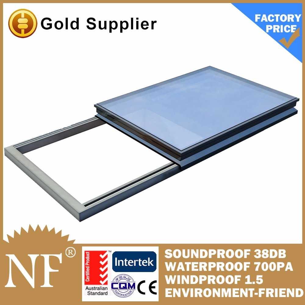 sound proof and weather aluminium tilt out window