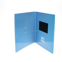 "4.3"" LCD video mailer for ads"
