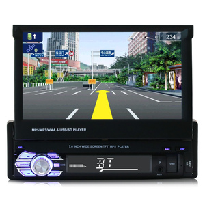 Fixed Panel Hand 1 Din Car Radio with 7 Inch TV GPS Optional Function