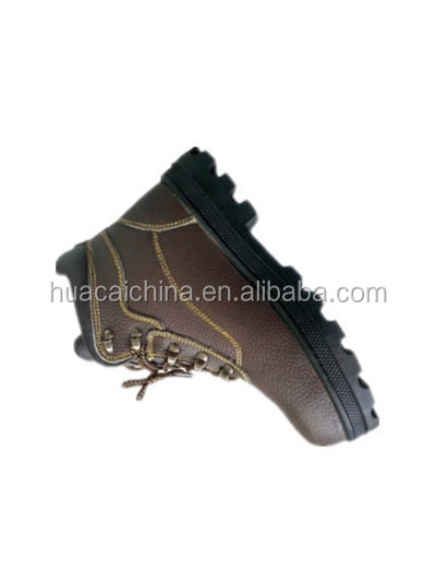 Black steel midsole anti-impact safety shoes and men's safety footwear