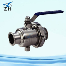 Stainless steel gear operated type ball valve