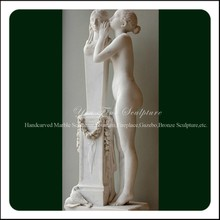 First Secret Confidence to Venus Outdoor Marble Sculpture