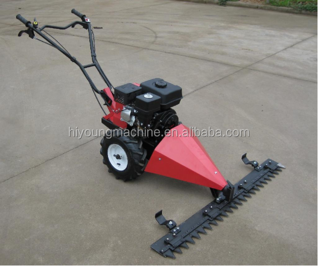 Agricultural gasoline lawn mower / lawn mowing machine / grass cutter