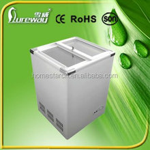 Manufacturer supply solar powered energy deep Battery powered freezer solar 12V dc chest freezer 60L