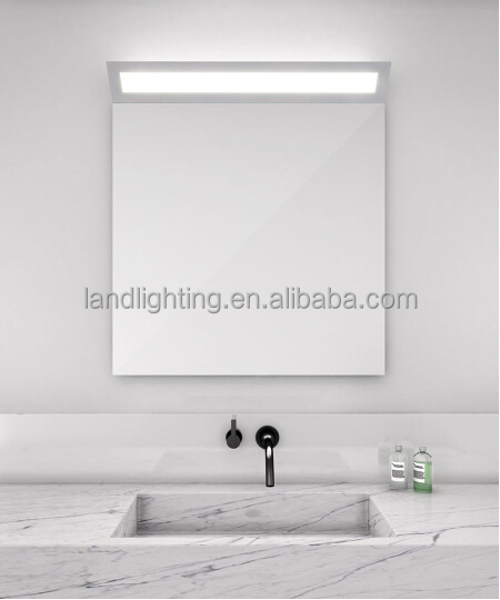 illuminated led bathroom mirror ip44 in customized