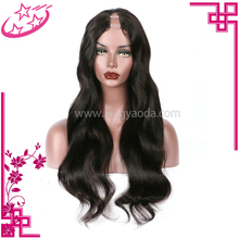 New Arrival Peruvian Natural Wave U Part Wig Human Hair