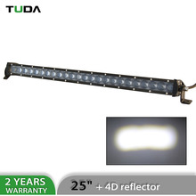 Wholesale 4D Low Resistance Spot Beam Single Row 120W 25Inch Led Light Bar