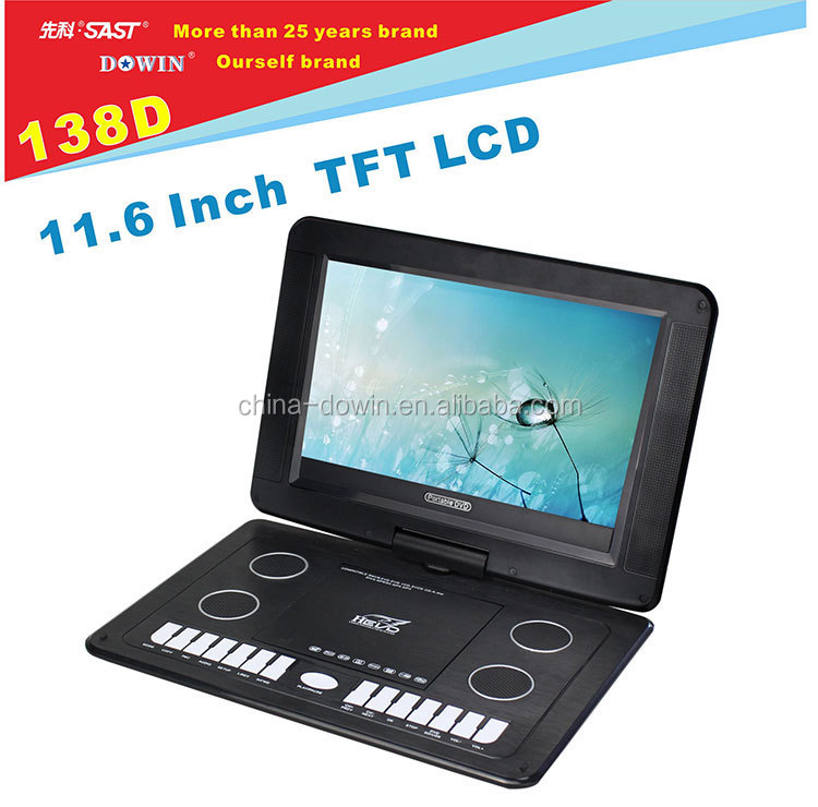 china factory wholesale USB SD GAME Mobile DVD Video-disc EVD VCD Player Portable DVD