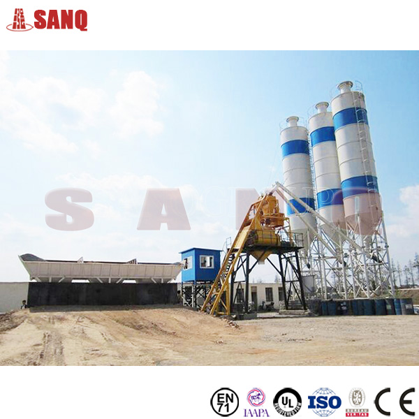 Construction Equipment Concrete Manufacturer HZS180 Concrete Batching Plant