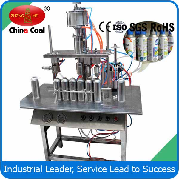Automatic Aerosol Spray Can Filling Machine, Air Freshener, Pesticide And Paint Aerosol Filling Machine