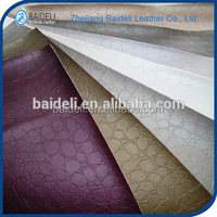 new design pvc pu vinyl fabric synthetic leather for shoes bags furniture upholstery