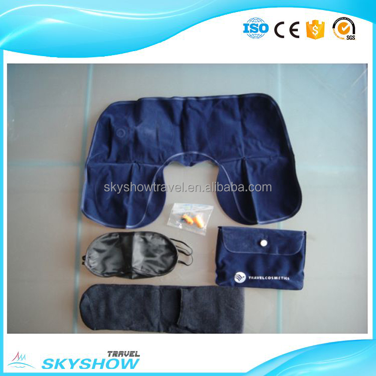 China supplier manufacture Sleeping set wholesale travel kit bag