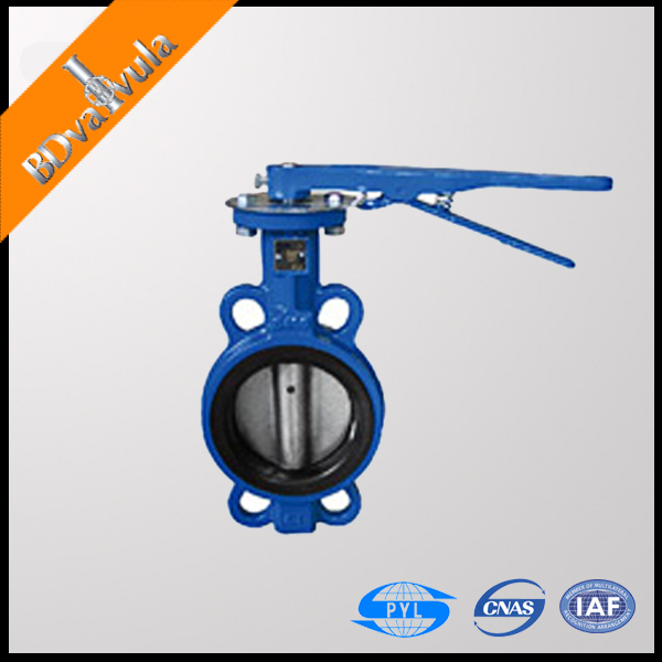 FM UL fire protection concentric type manual Butterfly Valve