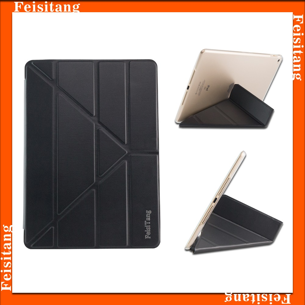 9.7inch Auto Adsorption Sleep wake up PU Leather Case For iPad air