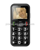 large button sos elderly mobile phone 2013 latest models W60