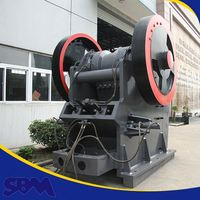 High accuracy fine breaker, stone product jaw crusher