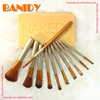 2016 top selling premium 12pcs/set synthetic naked makeup brush with case