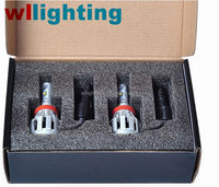 WLLIGHTING Factory cree 20w 3000lm h7 car led headlight for honda city headlight