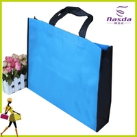 non woven laminated blue sky travel luggage bag