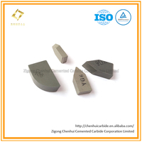Hard Alloy Brazed Tips YG6 Carbide Virgin Materials