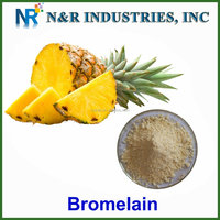100% pineapple extract /bromelain powder in stock
