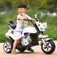 New PP plastic 3 wheel kids electric motorcycle for big kids