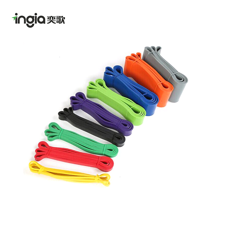 Wholesale 6mm Thickness One Layer Pull Up Assist Band Fitness Resistance Bands