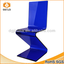 hot sale oem design color acrylic tiffany Z chair for furntiure