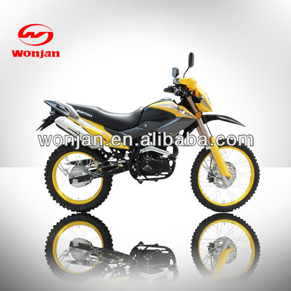 2013 newest 200cc dirt bike motorcycle with suzuki engine /wonjan motorcycle (WJ200GY-IV)