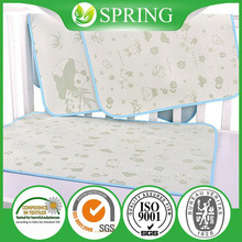 Xiaoshan Breathable Baby Disper OEM Durable Waterproof Washable Cotton Baby Mattress Pad