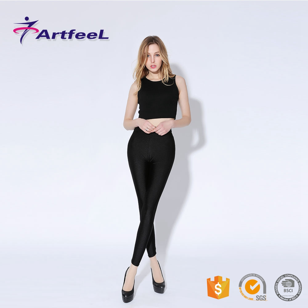 Wholesale dance custom printed leggings seamless tights