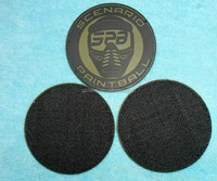 custom pvc rubber embroidery woven patch