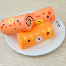 OLEEDA Kawaii Squishy Toys Simulation Shokugan Food Chicken Rolls Squishy Slow Rising Toys For Childs