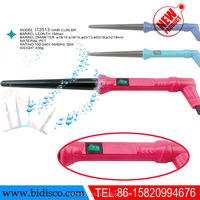 plastic material beauty salon ceramic electric hair straightening iron