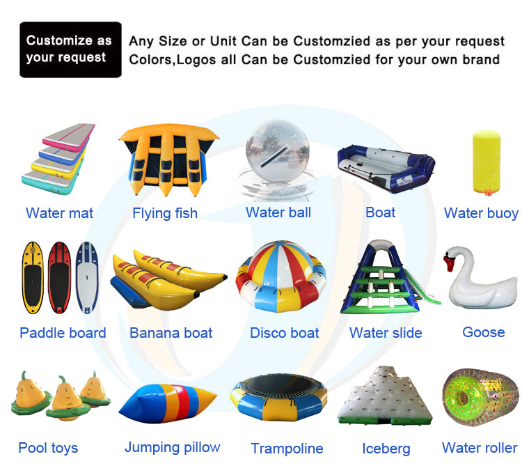 0.9mm PVC Inflatable Water Blob Jumping Pillow Air Bag Water Blob Jumping Air Bag Inflatable Trampoline With Pump