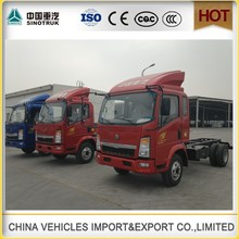 China made Diesel Fuel HOWO 4x2 10t light cargo truck for sale/mini truck made in china