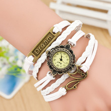 2609 Alibaba hot wholesale swan pendant dream hot vintage vogue watch all type of wrist watch