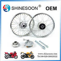 Disc brakes felly of TBT 125CC motorcycle spare parts color rim felly