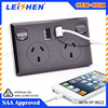 Wholesale Power Supply usb wall socket 250V with 2.1A USB Charger Ports Australia usb power outlet