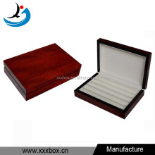 Jewelry box mens wooden cufflink holder cufflink display box