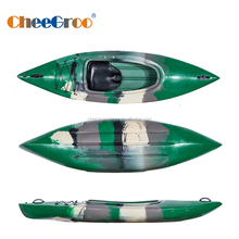 single seat sit in white water kayak for water sport LLDPE HDPE CE certificated kayak