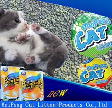 best sell New products 2017 100% nature bentonite cat litter with fast strong clumping deodorization feature