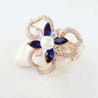 2015 Hot Brooch Rhinestone Crystal Flower Brooches for Wedding Bridal Top Quality Brooch Pin Jewelry For Womwen