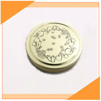 Hot Sale Printed Mason Jar Lids High Quality